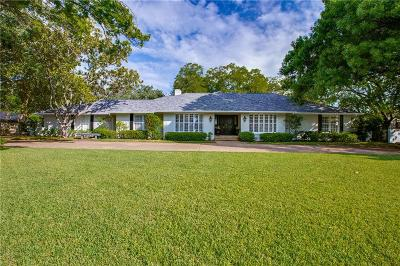 Dallas Single Family Home For Sale: 5521 Royal Crest Drive