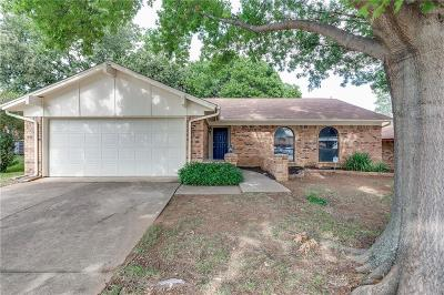 Euless Single Family Home Active Option Contract: 211 Almond Lane
