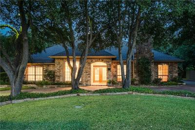 Colleyville Single Family Home Active Option Contract: 4209 Green Meadow Street E