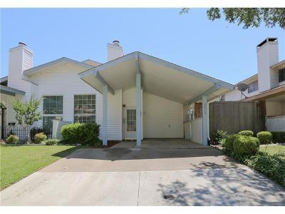 Carrollton Townhouse For Sale: 2012 Via Sonoma