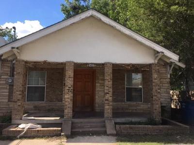 Dallas Single Family Home For Sale: 4509 Rusk Avenue