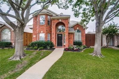 Plano Single Family Home Active Option Contract: 3105 Fox Hollow Drive