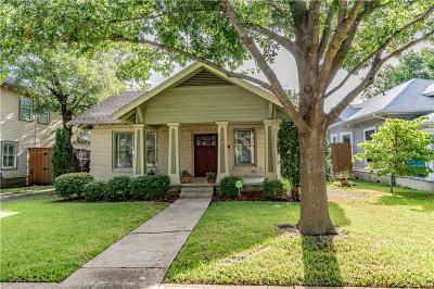 Oak Cliff Add, Oak Cliff Annex, Oak Cliff Gardens, Oak Cliff Orginal, Oak Cliff Original, Oak Cliff Original Town Of Single Family Home For Sale: 810 N Windomere Avenue