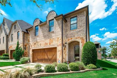 Carrollton Townhouse For Sale: 4293 Haskell Drive