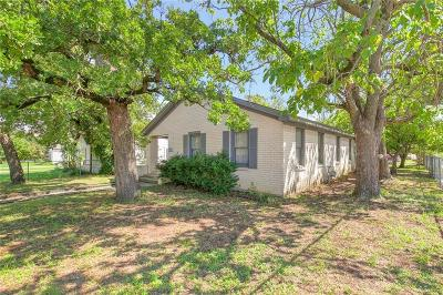 Weatherford Single Family Home For Sale: 523 W Water Street