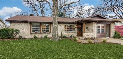 Garland Single Family Home Active Contingent: 1410 Meadowcrest Drive