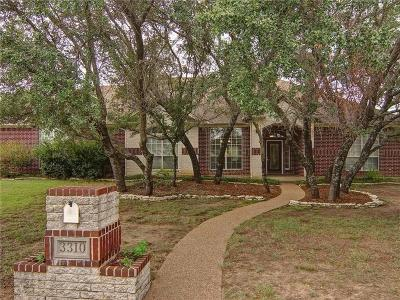 Weatherford Single Family Home Active Kick Out: 3310 Cliff View Court