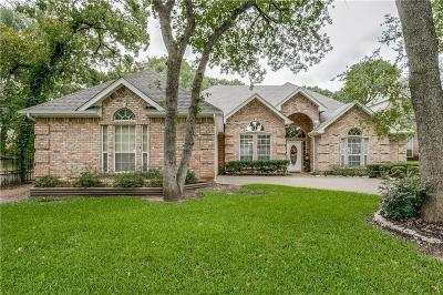 North Richland Hills Single Family Home Active Option Contract: 7416 Woodhaven Drive
