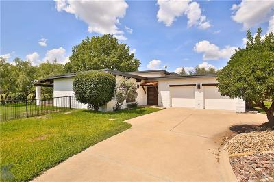 Abilene Single Family Home For Sale: 18 Fairway Oaks Boulevard
