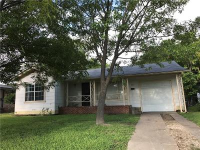 Fort Worth Single Family Home For Sale: 2612 Roseland Street