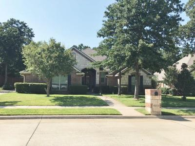 Azle Single Family Home Active Option Contract: 1573 Flying Jib Drive