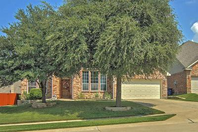 McKinney Single Family Home Active Contingent: 2612 Clover Hill Court