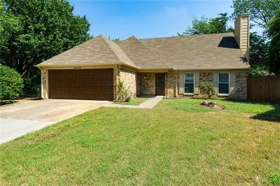 Flower Mound Single Family Home Active Option Contract: 5408 Gregory Drive