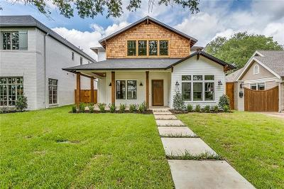 Fort Worth Single Family Home For Sale: 2720 Waits Avenue