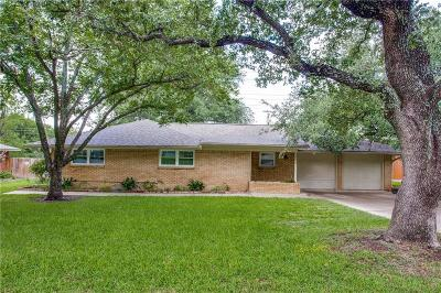 Benbrook Single Family Home Active Contingent: 3812 Bendale Road