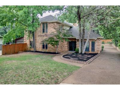 Grapevine Single Family Home For Sale: 3513 Fieldwood Street