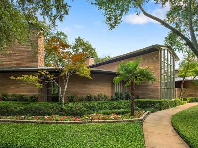 Preston Hollow Single Family Home For Sale: 5350 S Dentwood Drive
