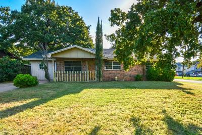 Stephenville Single Family Home Active Option Contract: 610 S Fifth Avenue