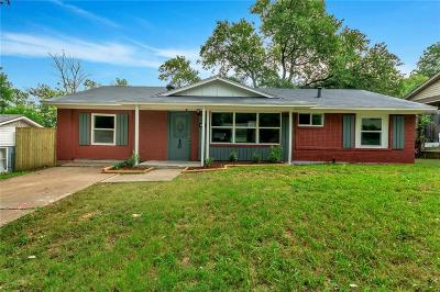 Grand Prairie Single Family Home For Sale: 1609 Virginia Street