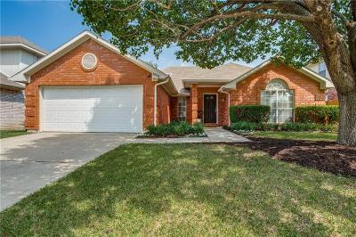 Plano Single Family Home Active Option Contract: 4805 Thorntree Drive