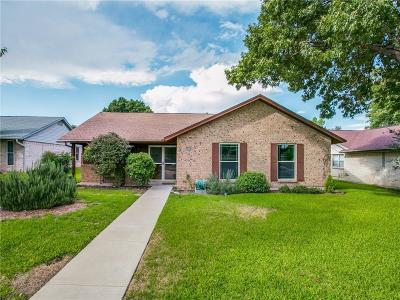 Plano Single Family Home Active Option Contract: 3617 Westview Lane