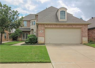 Hurst, Euless, Bedford Single Family Home For Sale: 204 Fountainview Drive