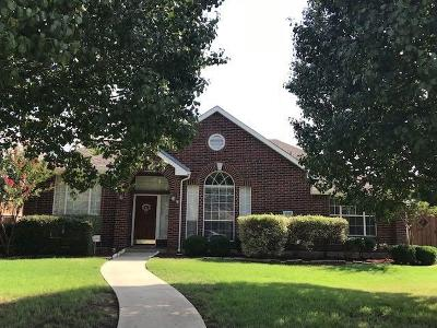 Frisco Single Family Home Active Option Contract: 1619 Dowelling Court