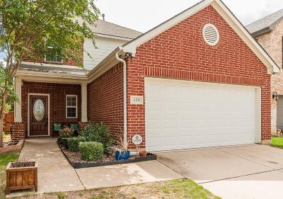 Argyle Single Family Home For Sale: 430 Marshall Way