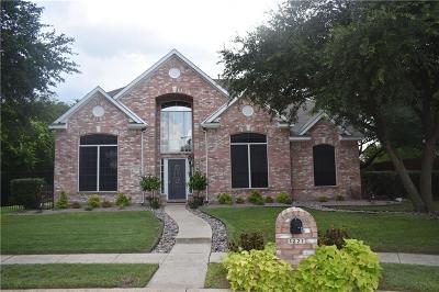 Allen Single Family Home Active Option Contract: 1221 Ashford Lane