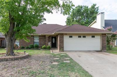 Cedar Hill Single Family Home For Sale: 711 Brookside Drive