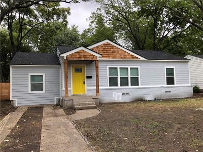 Dallas Single Family Home For Sale: 11419 Sinclair Avenue