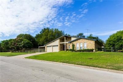 North Richland Hills Single Family Home Active Option Contract: 3741 Wendell Drive