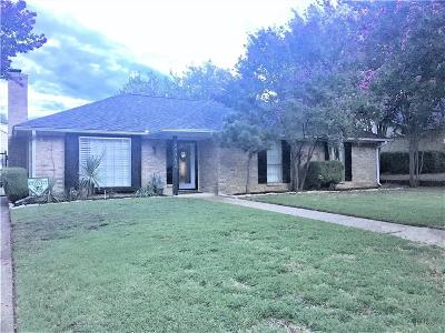 Grapevine Single Family Home Active Option Contract: 2936 Red Bird Lane