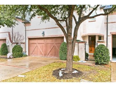Coppell Townhouse For Sale: 742 Warwick Lane