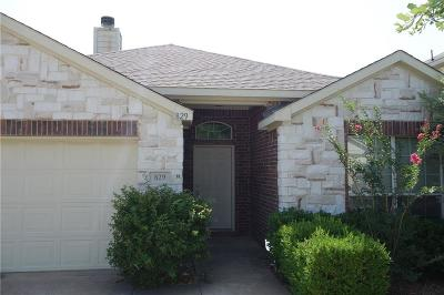 Anna Single Family Home For Sale: 829 Westfield Drive