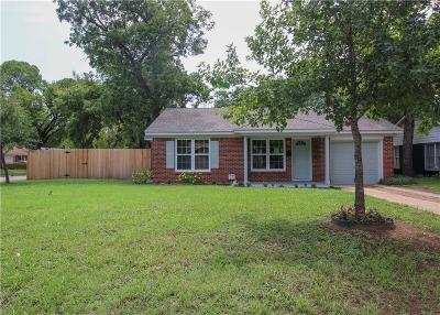 River Oaks Single Family Home For Sale: 5701 N Schilder Drive