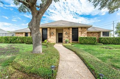 Plano Single Family Home Active Option Contract: 2101 Apple Valley Road