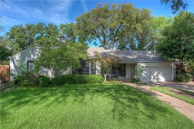 Fort Worth Single Family Home For Sale: 309 N Bailey Avenue
