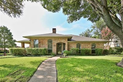 Plano Single Family Home Active Contingent: 2400 Glenhaven Drive