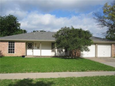 North Richland Hills Single Family Home Active Option Contract: 7583 Terry Drive
