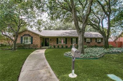 Single Family Home For Sale: 7644 Fallmeadow Lane