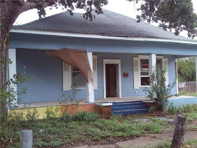 Brownwood Single Family Home For Sale: 1518 Avenue B
