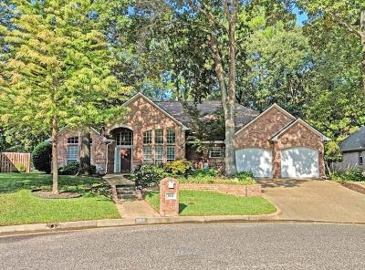 Tyler Single Family Home For Sale: 3811 Long Leaf Drive