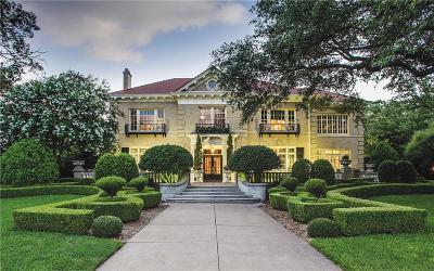 Dallas Single Family Home For Sale: 5323 Swiss Avenue