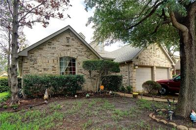 Keller Single Family Home Active Option Contract: 621 Willowwood Trail