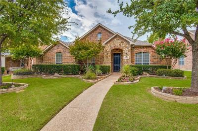 Frisco Single Family Home Active Option Contract: 15591 Forest Creek Drive