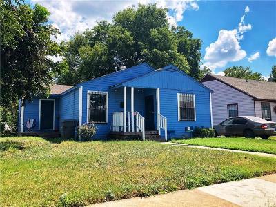 Dallas Single Family Home For Sale: 3222 Rose Lane