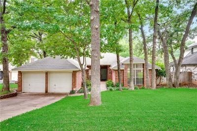 Grapevine Single Family Home Active Option Contract: 4505 Amesbury Circle