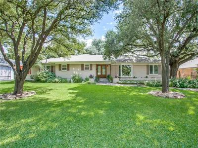 Dallas Single Family Home For Sale: 6914 Northaven Road