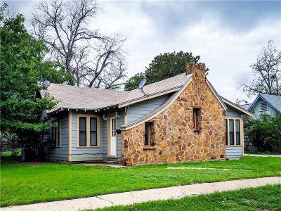 Brownwood Single Family Home Active Option Contract: 2607 Vincent Street